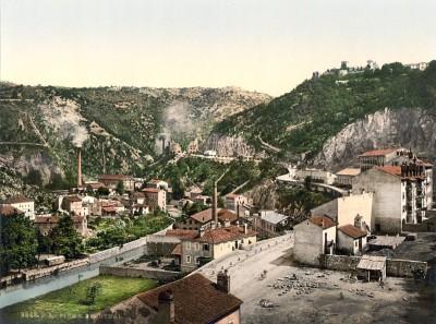 Rijeka, Fiume : Pogled na Austro-Ugarsko carstvo oko 1890. godine (HQ)