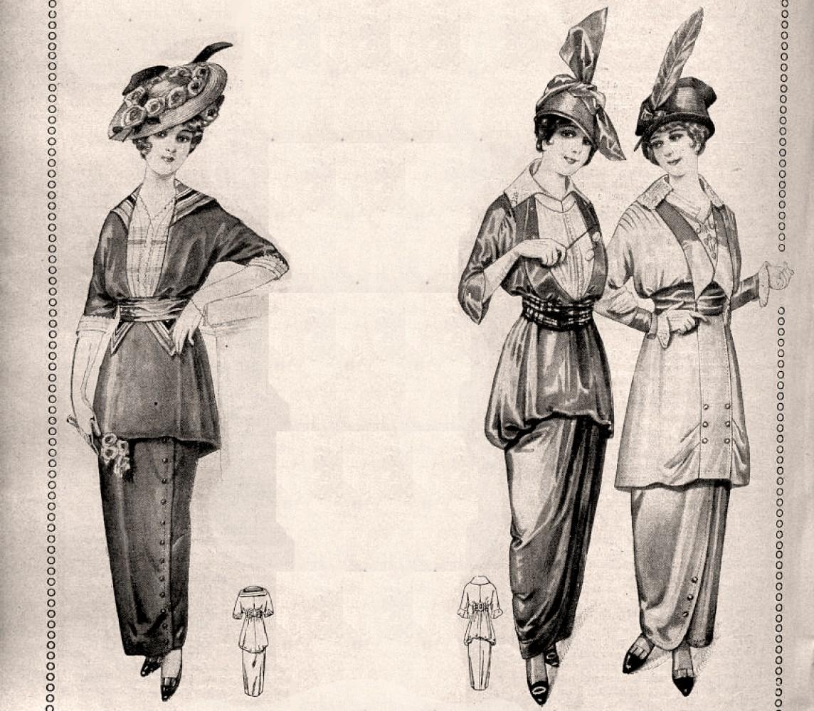 Sa becke modne revije 1914. godine