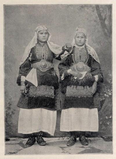 Seljanke iz Kruševa u Makedoniji krajem XIX v.