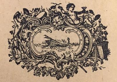 Škorpija, horoskopski znak. Vinjeta iz 1914. god.