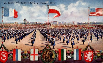 VI. Sokolski slet, Prag 1912. god.