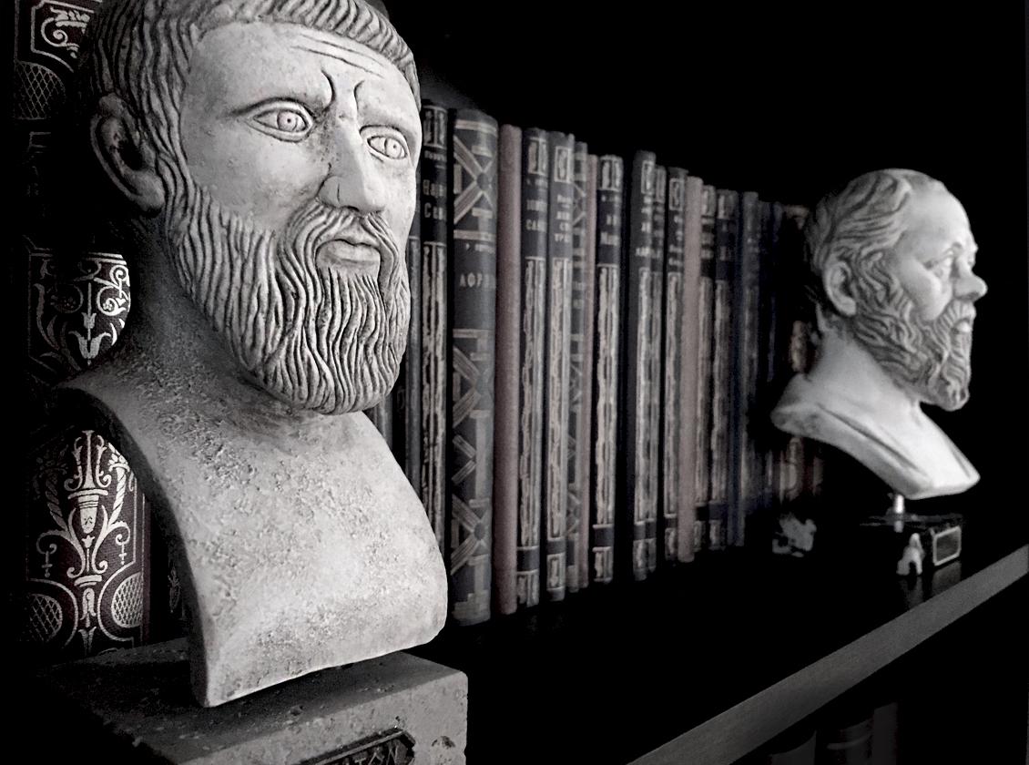Sokrat i Platon, grčki filozofi