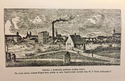 Rogina bara : Subotica 60-tih godina XIX veka