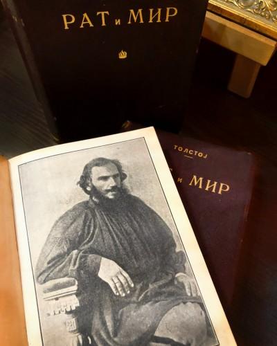 Lav Tolstoj 1868. godine, u vreme dok je pisao Rat i mir