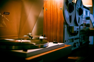 Toshiba Turntable - Hi-Fi Audio : Vintage Stereo Setup
