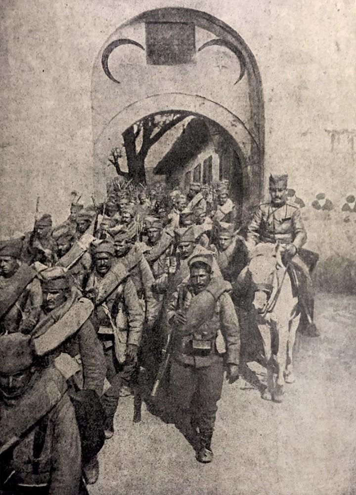 Ulazak srpske vojske u Skoplje 13. avgusta 1912. godine