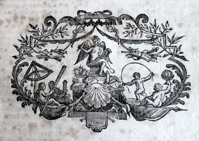 Vinjeta br. 2 iz knjige: Razgovor ugodni naroda slovinskoga - Andrija Kacic Miosic 1759