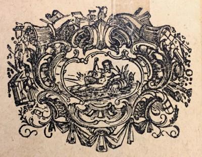 Vodolija, horoskopski znak. Vinjeta iz 1914. god.