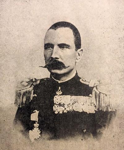 General Petar Bojović, komandant srpske i crnogorske vojske pod Skadrom
