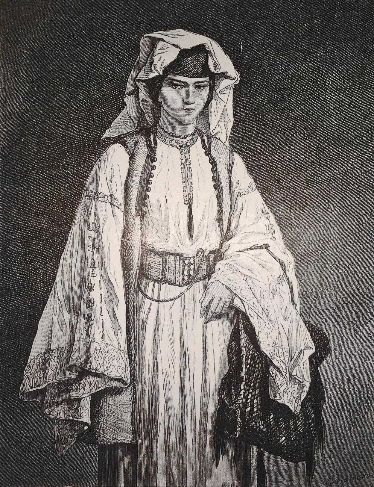 Žena iz Brda, Crna Gora (1876)