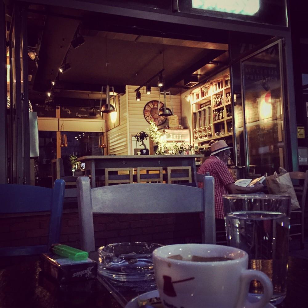 Kafe Zrno, Njegoševa ulica, Vračar