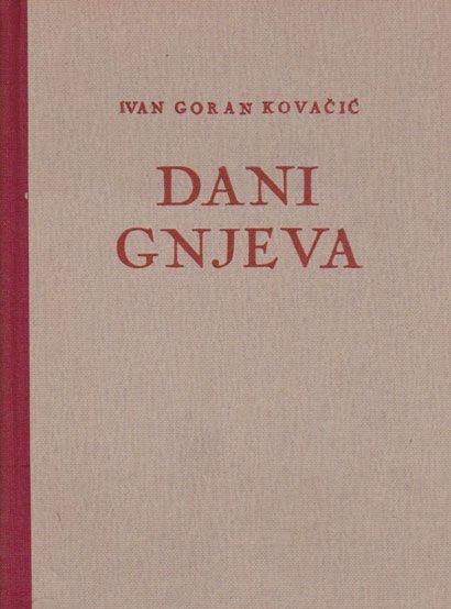 Ivan Goran Kovacic Knjige Autora Ivan Goran Kovacic
